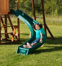 cedar brook backyard play set with monkey bars u0026 rockwall
