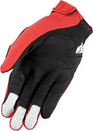 thor motocross gloves mx gloves thor rebound red