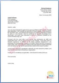 examples of nursing cover letters new grad sample resume letter