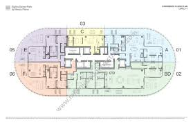 eighty seven park by renzo piano site plan penthouse