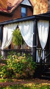 how to make inexpensive curtain rods for your front porch simple