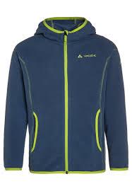 mtb jackets sale vaude paul fleece fjord blue kids clothing jackets vaude cycling
