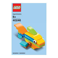lego rainbow fish 40246 brick owl lego marketplace