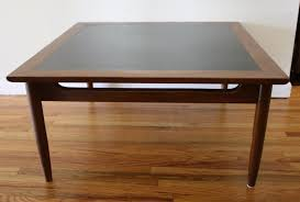 Harmony House Furniture Mid Century Modern Square Coffee Tables Picked Vintage