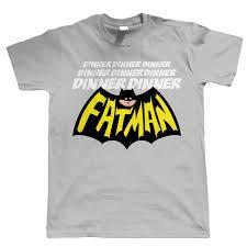 dinner dinner fatman funny mens t shirt superhero christmas gift