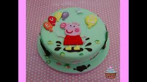 presenting peppa pig birthday cake ideas youtube