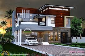 contemporary home designs in kerala 2165 sq ft modern contemporary