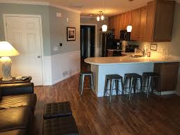 lake side cozy fireplace large tvs great finishes police fire