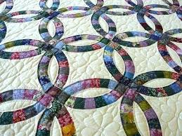 Double Wedding Ring Quilt by Wedding Ring Quilts Patterns U2013 Boltonphoenixtheatre Com