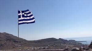 Greek Canadian Flag Greek Flag Pefkos Rhodes Greece Youtube