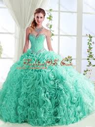 rolling flowers really puffy discount quinceanera dresses in with
