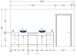 hauteur standard cuisine hauteur meuble sdb supacrieur salle de bain cuisine 4 hauteur