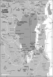 Tahoe Map My Favorite U S City South Lake Tahoe Ca Moon Travel Guides