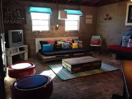 garage loft ideas teenager garage hangout hangout teenager upcycle diy pallet