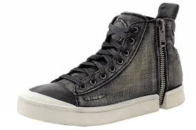 zipper boots s diesel s s nentish zip around high top sneakers shoes high