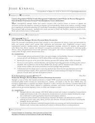 production planner resume mechanical maintenance planner resume