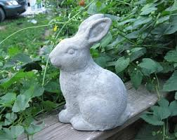 shabby chic rabbit ring holder images Rabbit decor etsy jpg