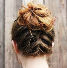 side buns for shoulder length fine hair 60 easy updo hairstyles for medium length hair in 2018