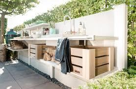 aussenk che mauern beautiful outdoor küche holz photos ideas design