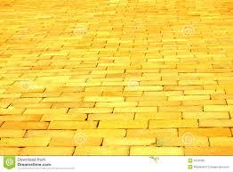 yellow brick road stock image image of golden heavenly 45125381