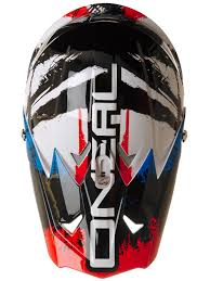 motocross helmet stickers oneal black blue red 2018 3series shocker mx helmet oneal