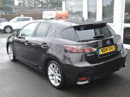 hybrid lexus ct200h used langdon bronze mica lexus ct 200h for sale cheshire