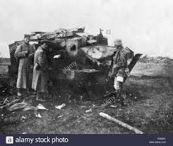renault f1 tank french first world war tank stock photo royalty free image