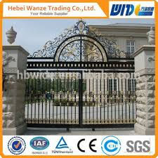 galvanized wrought iron ornaments fencing ornamental wrought iron