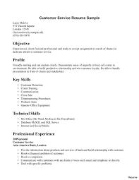 resume for customer service representative in bank resume exles for customer service representative call center