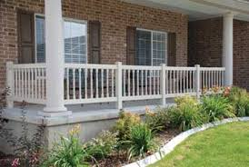 pvc vinyl deck railing spindle and baluster