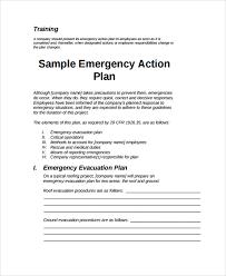 emergency response plan template 6 response disaster response the