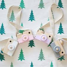 aliexpress com buy kids cute wooden camera toys children fashion