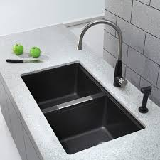 White Undermount Kitchen Sink Home Decor Black Undermount Kitchen Sink Bathroom Shower