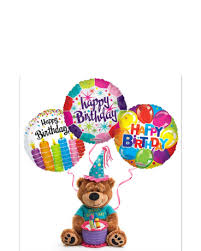 50th birthday flowers and balloons monday morning flowers plush animals and balloons