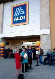 aldi district manager nicole shannon celebrates her full time job