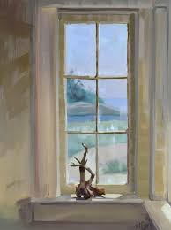 How To Paint Interior Windows New Oil Painting Interior Window View P J Cook Artist Studio