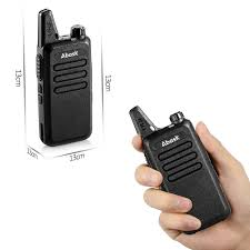 amazon com walkie talkies abask two way radio rechargeable