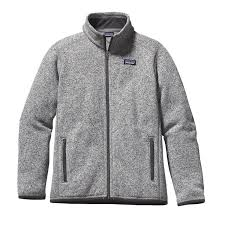 patagonia boys better sweater fleece jacket