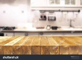 Kitchen Background Kitchen Background Free Space On Table Stock Photo 490771213
