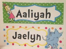 student name tags for desks one of a kind dr seuss student name tags for desks tables themed