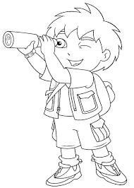 Go Diego Coloring Pages Printable Kids N Of Best Coloring Disney Go Diego Go Coloring Pages