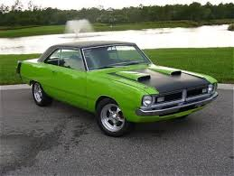 lime green dodge dart 73 dart not sure about the color though cool cars