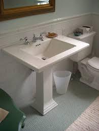 seafoam green bathroom