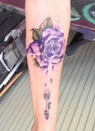 znalezione obrazy dla zapytania watercolor rose tattoo polska