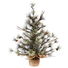vickerman dakota pine tree tabletop trees garden pre lit