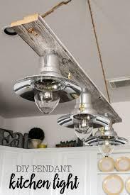 Diy Hanging Light Fixtures Diy Pendant Light