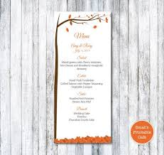 the 25 best wedding menu template ideas on pinterest diy