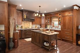 Just Cabinets And More by Room Gallery Medallion Cabinetry Wellington Cherry Chestnut And