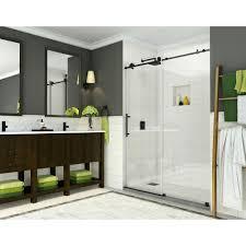 Frameless Shower Door Clear Frameless Shower Doors Showers The Home Depot