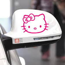 jual beli stiker mobil kitty spion body kaca keren bukalapak